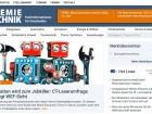 CT-Online: Frische Optik, mehr auf einen Blick
