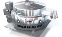 Compact Airlock Sieve von Russell Finex. (Bild: Russell Finex)
