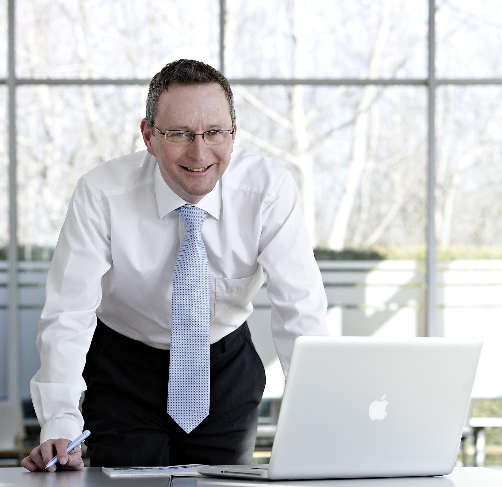 Roger Willis, Leiter Geschäftsfeld Chemie & Papier, Netzsch