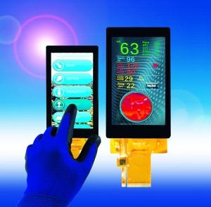 Densitron Handschufähige Touch-Displays