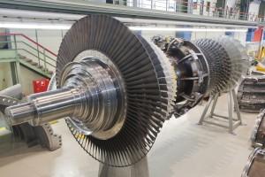 Siemens-Gasturbine SGT6-8000H / Siemens gas turbine SGT6-8000H