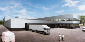 Freudenberg baut europäisches Logistikzentrum bei München