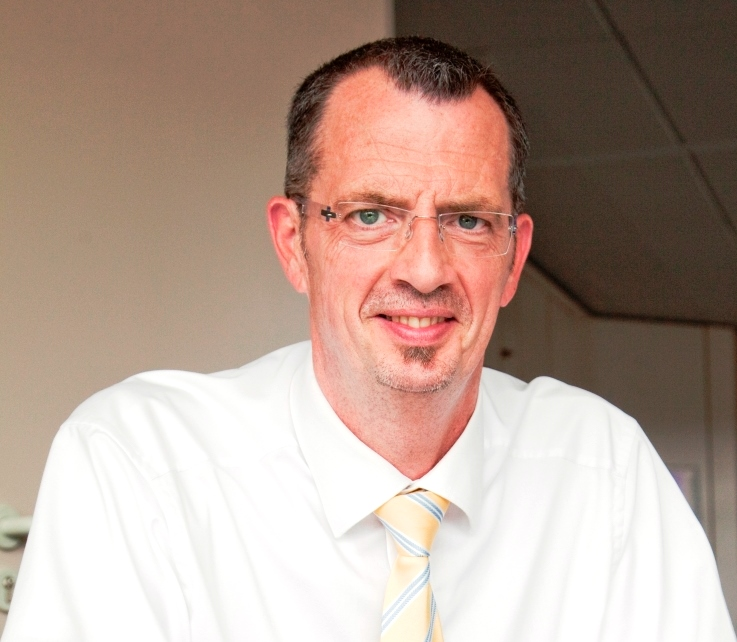 Thomas Scholz,  Bereichsleiter Logistik, Zeppelin Systems