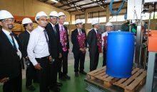 Der Chemiekonzern BASF hat in Sri Lanka seine erste Anlage zur Produktion von Bauchemikalien angefahren. Mit dem Abschluss des Projekts will der Konzern die steigende Nachfrage durch die Baubranche in Sri Lanka bedienen. (Bild: BASF)