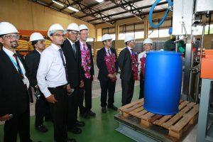 Mit ihrem neuen Produktionsstandort in Colombo kann die BASF Bau