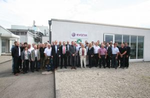 Evonik-Standort Rheinmünster feiert zehnjähriges Jubiläum