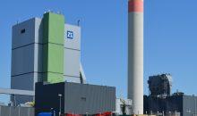 Der Drehkolbenverdichter transportiert die feuchten Holzschnitzel auf eine Höhe von 45 m. Bilder: Aerzener Maschinenfabrik
