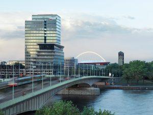 Lanxess-Zentrale in Köln: Der Spezialchemie-Konzern hat den