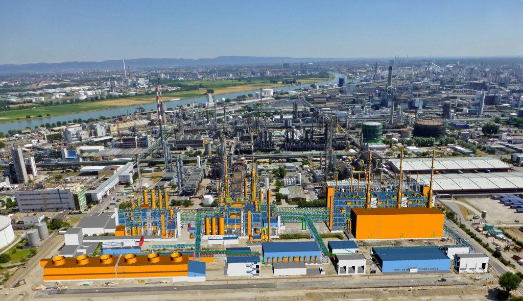BASF ersetzt Acetylen-Anlage in Ludwigshafen
