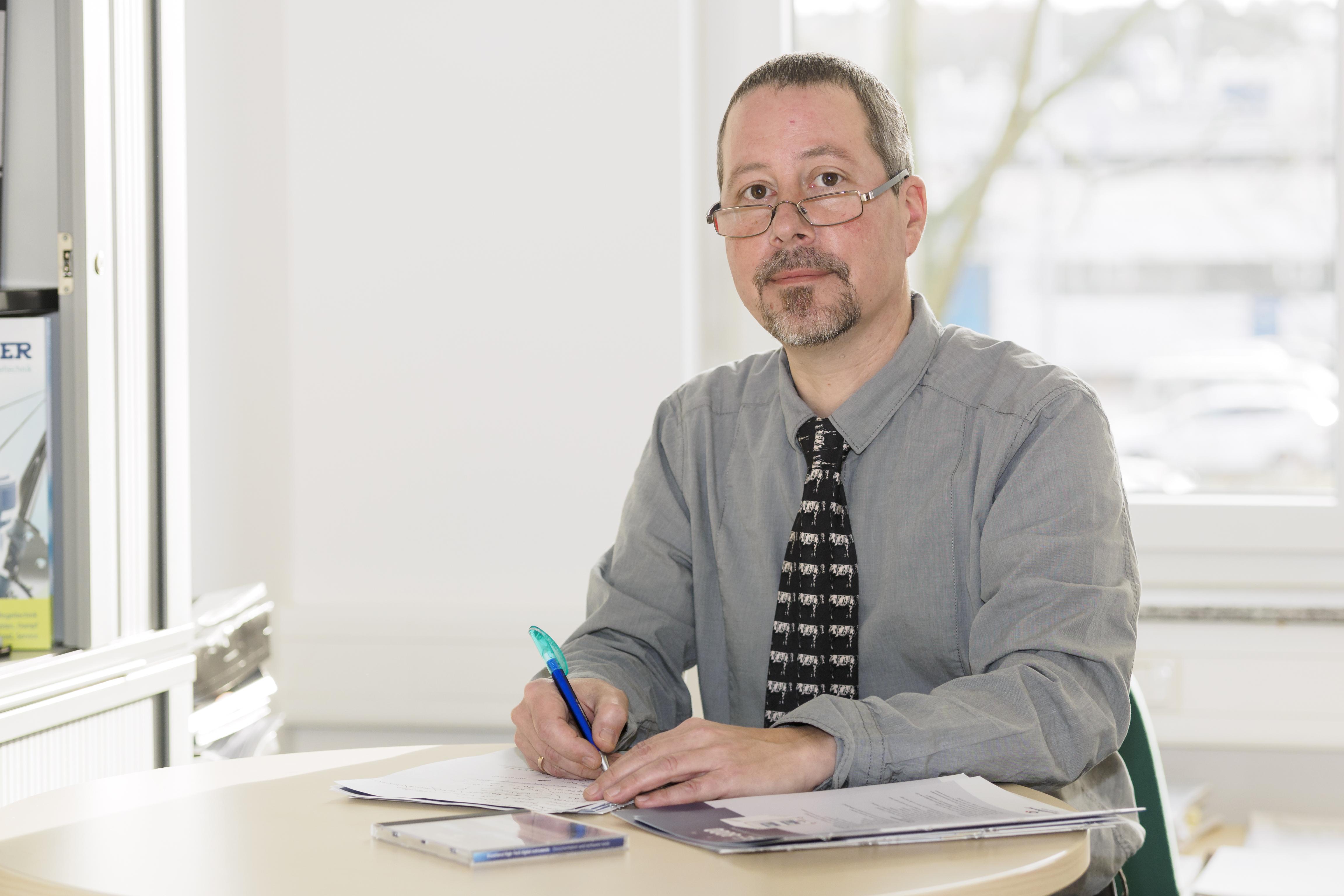 Ralf Kunath, Produktmanager Pumpen und Dosiersysteme bei Flusys