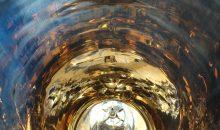 """Ein Behälter im Frühstadium der Korrosion mit """"Golding"""". Bild: Beratherm"""