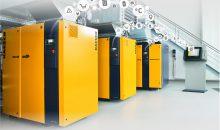 Datensätze aus der Druckluft-Produktion ermöglichen nach ihrer Auswertung Optimierungen am System. Bild: Kaeser