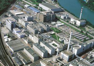 Der Infrapark aus der Vogelperspektive. Bilder: Infrapark Baselland