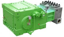 Der neue Antriebsstrang erhöht die Energieeffizienz und Laufruhe der Hochdruck-Plungerpumpen und senkt den Geräuschpegel. Bild: Kamat