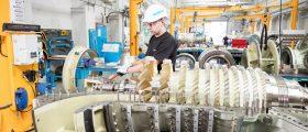 Die SGT-400 gilt als die effizienteste Gasturbine ihrer Leistungsklasse. (Bild: Siemens)