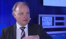 Dr. Gunther Kegel, Vorsitzender der Geschäftsleitung von Pepperl+Fuchs und Vorstandsvorsitzender des ZVEI-Fachverbands Automation In den letzten Wochen haben wir bei den technischen und organisatorischen Fragen zur IP-Kommunikation einen Durchbruch erzielt. Bild: ZVEI