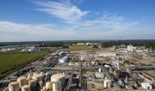 Blick über den BASF-Standort Geismar, Lousiana (USA) (Bild: BASF)