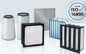 Nach Wirkungsgrad gefiltert: Mit der ISO 16890 ändern sich die Klassifizierungen von Luftfiltern. Bild: Freudenberg Filtration Technologies