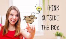 """""""Outside the box""""-Denken erfordert das Infragestellen etablierter Strukturen. Das ist disruptiv, kann aber neue Konzepte hervorbringen. Bild: Melpomene – fotolia"""