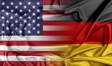 Relations between two countries. USA and Germany.