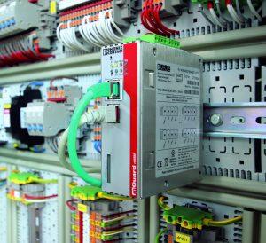 Mit den Security Appliances FL m-Guard lassen sich Anwendungen sicher nach IEC 62443 vor unbefugten Zugriffen schützen. Bild: Phoenix Contact Cyber Security