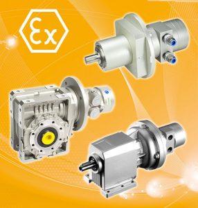 ((  Atex-konforme Druckluftmotoren Power Line