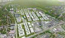 Der Siemens Campus Erlangen wird einen kompletten neuen Stadtteil bilden. (Bild: Siemens)