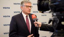 Geschäftsführer Dr. Hubert Lienhard zeigte sich zufrieden mit dem Fortschritt des Programms Voith 150+, mit dem der Konzern sich umstrukturieren will. (Bild: Voith)