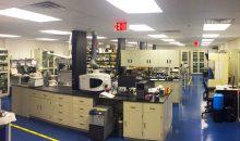 Labor von Nanotech Industrial Solutions in New Jersey, USA: Evonik investiert in Partikeltechnologie für Schmierstoff-Addive. (Bild: Evonik)