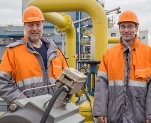 Flexim Markus Schaumburg links und Christoph Skalnik Currenta - Bild Flexim