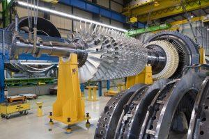 Die Siemens-Gasturbine SGT6-5000F / The Siemens gas turbine SGT6-5000F