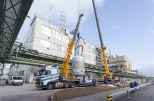 Wacker Dispersionsfabrik Burghausen Erweiterung