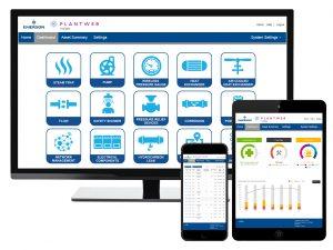 Darstellung der Pumpenüberwachung in den Systemen Essential Asset Monitoring und Plantweb Insight. Bild: Emerson