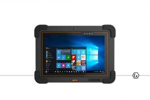 Vor der Bestellung eines ex-zertifizierten Tablet-PCs wie dem neuen Zone 1 zertifizierten Agile X IS von Bartec müssen zunächst die zu optimierenden Prozesse analysiert und bekannt sein. Bild: Bartec