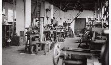 So sahen die Anfänge der Edur Pumpenfabrik aus. (Bild: Edur)