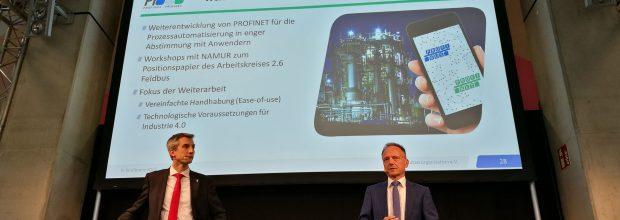 Wie die Weiterentwicklung von Profinet für die Prozessautomatisierung aussehen soll wurde auf der Konferenz in Frankfurt diskutiert. Bild: Redaktion
