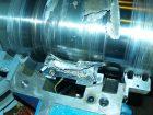 ... Lagerschäden an Turbinenanlagen aufgrund elektischer Designfehler. Bilder: TÜV Süd