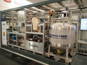 HMI modulare Chemieproduktion
