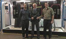 Von links nach rechts: Ryan Ashley (President REN Corporation), Henning Willig (Maximator), Bryan Rattan (Vize President REN Corporation). (Bild: Maximator)