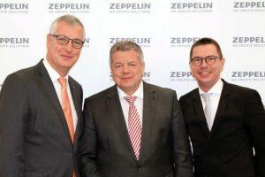 Zeppelin Konzern schließt erfolgreiches Geschäftsjahr ab