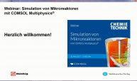 Beim Webinar Mikroeaktoren wurden wichtige Fragen rund um die Mikroreaktionstechnik beantwortet.