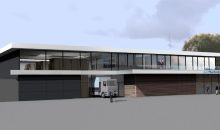 So soll der Neubau Wolftechnik-Neubau aussehen, wenn er fertig ist. Der Ausbau vergrößert die Fläche für Lager, Büros und Schulungsräume. (Bild: Wolftechnik)