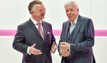 Der neue Vorstandsvorsitzende von Evonik, Christian Kullman (l.), und Aufsichtsratsvorsitzender Dr. Werner Müller (Bild: Evonik)