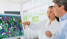 Die Digitalisierung in der Forschung soll dazu beitragen, die Forschungsarbeit effizienter zu gestalten, Wissensnetzwerke auszubauen und mehr Freiräume für Kreativität zu schaffen. (Bild: BASF)