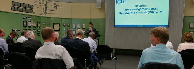"""Dr. Martin Rauser, Sanofi, ist Vorstandsvorsitzender der Interessensgemeischaft Regelwerke Technik (IGR), """"Wir wollen die technische Kompetenz für Betreiber und Dienstleister chemisch-pharmazeutischer Anlagen durch firmenübergreifende Zusammenarbeit erhalten und weiterentwickeln."""""""