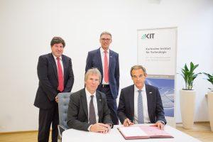 KIT und Bosch: gemeinsam innovativ