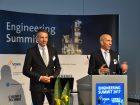 Ein bisschen mehr geht immer – sowohl im Positiven, als auch im Negativen: Ein bisschen viel mehr Wettbewerbsdruck verspüren deutsche Anlagenbau-Unternehmen, so eine aktuelle Umfrage des VDMA. Und es wird in den nächsten Jahren noch schlimmer werden. Welche Antworten die Branche darauf findet, wurde auf dem 5. Engineering Summit  im Juli diskutiert. (Bilder: Redaktion)