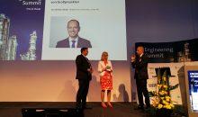 Linde-Vorstand Dr.-Christian Bruch diskutierte auf dem 5. Engineering-Summit die Erfolgsfaktoren bei der Abwicklung vo Großprojekten. Bilder: Redaktion