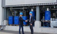 Aus Kohlendioxid und Wasser erzeugen wollen Nordic Blue Crude, Sunfire und weitere Partner mit Wasserkraft einen Erdölersatz in großem Maßstab produzieren. (Bild: Sunfire)