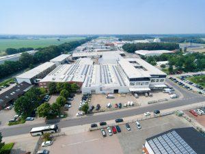 Hauptsitz der Firma Vogelsang in Essen/Oldenburg (Bild: Vogelsang)